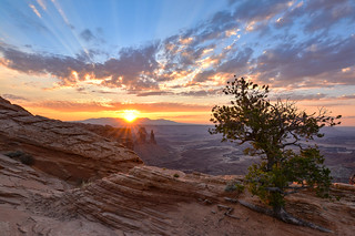 Real beauty - sunrise from Canyonlands