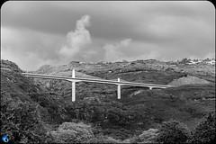 White Gate (bffpicturesworld) Tags: bridge goldengate cloudy blackandwhite classic iledelareunion reunionisland