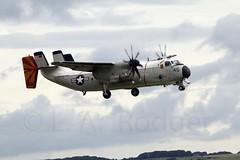 C2A  162168 (TF102A) Tags: aviation aircraft airplane usnavy prestwick c2 c2a cvw8