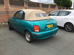 Nissan March Cabriolet (VAGDave) Tags: nissan march cabriolet 1997