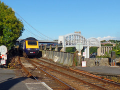 43088 Royal Albert Bridge (3) (Marky7890) Tags: gwr 43088 class43 hst 1c84 royalalbertbridge railway saltash cornwall cornishmainline train