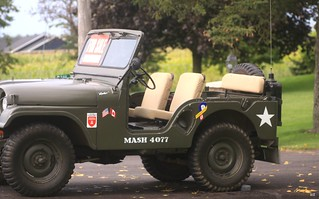 Hawkeye's jeep