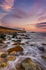 Foz do Douro, Lighthouse (paulosilva3) Tags: lighthouse foz do douro waterscape seascape sea colors sunset canon eos manfrotto lee filters portugal