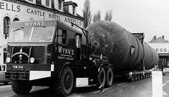 Wynn's Pacific 6x6 heavy duty prime mover Reg No YDW 356 'Challenger' (moomooland1) Tags: wynnspacific wynns heavyhaulage haulage newport abnormalload ydw356 lorry truck southwales