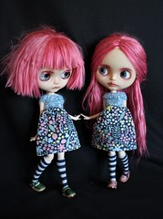 The twins do matching dresses