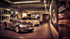 Tesla Model S (Werner Thorenz) Tags: tesla models teslamodels düsseldorf thorenz moderncar auto car sportscar elektroauto electricvehicles hdr photomatix