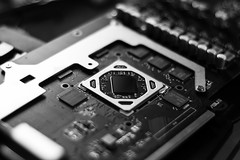 The Core (F051) Tags: gpu amd core tech pcmasterrace rx 480 asus strix oc gaming gamer game pc hardware geek nikon 50mm 50mmf18 nikkor50mm highcontrast altocontraste sharp components blancoynegro blackandwhite bnw