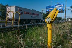 Farewell to the 'Praatpaal' (fjthijsebaard) Tags: a20 rijksweg vlaardingen praatpaal anwb highway wegenwacht rijnmond broekpolder