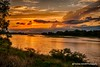 Platte River Sunset (Thomas DeHoff) Tags: sunset platte river nebraska clouds colorful sony a700 tamron 1750