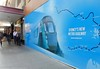 Sydney Metro - The hoardings go up in Pitt Street - 2 (john cowper) Tags: sydneymetro transportfornsw pittstreetstation pittstreet sydneysouthpostoffice hoarding barrier metrotrain sydney newsouthwales