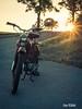 Der Abendgruß (martinrödel) Tags: sr2 motobike moped simson simsonsr2