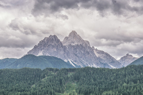 View from the north side of the San Candido Valley