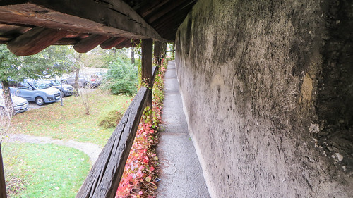 On the town wall, Schongau
