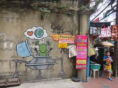 by Jace (tofz4u) Tags: jace gouzou streetart artderue graffiti tag street rue people bangkok krungthep thailand thailande