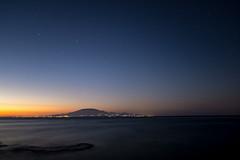 Starry twilight (PeterJot) Tags: greece landscape nature outdoors zakynthos greek island longexposure night sea sky starry starrynight stars