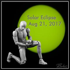 KunSunTest_4290 (bjarne.winkler) Tags: hikari sensei kun master light is getting ready for total solar eclipse aug 21 2017 with green sun created by welder glass protect camera