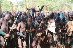 A winner (martien van asseldonk) Tags: ethiopia surma koka donga stickfighting martienvanasseldonk
