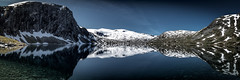Deep blue (Olof Virdhall) Tags: water sno deep blue meltwater panorama norway canon eos5 mkiii olofvirdhall