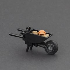 Wheelbarrow (Legopard) Tags: wheelbarrow lego moc gardening building