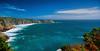 Cornwall -  Porthcurno Cove (Janusz Kudlak) Tags: cornwall porthcurnocove uk england agnieszka ilovemywife myniu pastuch best sony alpha700 blue