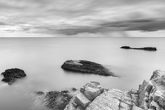 Out to Sea (ShinyPhotoScotland) Tags: affection art aspiration awe balance beautiful beyond blackandwhite brightsunlight calm cloudappreciation clouds coast colourgrading contentment distance elegance favourite flowing geology granite happy harmony horizon idyll igneous imposing landscape landwater light lightanddark lines longexposure monochrome motionblur motionstationary movement nature naturehappens nd1000 nearmidfardistance nisi peace pentaxk1 peterheadpluton photography pixelshift raw relaxed rockstone rockwater samyang24mmf14 satoripunctum sea serene serifaffinityphotoipad shapeandform simple skyearth space striking sumptuous sunlight toned tranquil turbulence vista water weather zen