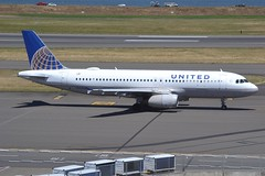 N443UA (LAXSPOTTER97) Tags: airbus airport airplane aviation kpdx n443ua a320 a320200 cn 820 united airlines
