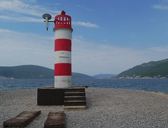 Tivat Lookout (Grooover) Tags: tower lookout beacon beach tivat montenegro grooover