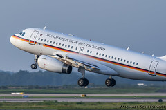 15+02 - Airbus A319-133(CJ) - German Air Force (MikeSierraPhotography) Tags: 1502 eddk cgn cologne airport military airbus a319133cj gaf germanairforce germany