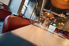 _DSC2090 (fdpdesign) Tags: pizzamaria pizzeria genova viacecchi foce italia italy design nikon d800 d200 furniture shopdesign industrial lampade arredo arredamento legno ferro abete tavoli sedie locali