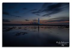 St Marys Lighthouse (R0BERT ATKINSON) Tags: stmaryslighthouse whitleybay tynewear oldhartley sunrise robatkinsonphotography northeastengland northumberlandcoast northeastcoast northsea sky clouds nikond5100 sigma1020 leefilter