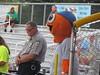 Bingo's Charm at Burlington Athletic Stadium -- Burlington, NC, August 13, 2017 (baseballoogie) Tags: 081317 baseball baseball17 baseballpark ballpark stadium canonpowershotsx30is burlingtonathleticstadium burlingtonroyals appalachianleague rookie milb burlington northcarolina nc