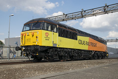 56049 (Lucas31 Transport Photography) Tags: trains railway ooc colas class56 56049