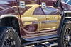 Yellow (Reflections on a Hummer) (wildcatlou) Tags: automobile cars vehicles wheels reflection yellow h2 hummer vw bug