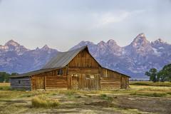 T. A. Moulton Barn in Grand Teton National Park (xoque) Tags: grand teton grandteton grandtetonnationalpark national parks gtnp wyoming tamoultonbarn t a moulton barn sunrise