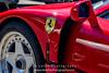 Red-Ferrari-F40-sports-car-in-sydney-by-la-lente-photography-left-guard (Paul D'Ambra - Australia) Tags: car red ferrari sportscar redsportscar redferrari vehicle motorvehicle redf40