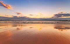 Sunrise Seascape (Merrillie) Tags: umina uminabeach uminapoint australia beach blue centralcoast clouds dawn daybreak landscape nature newsouthwales nsw outdoors photography rocks sand sea seascape sky sunrise water waterscape