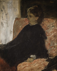 Edgar Degas - Lady in Black at Nationalmuseum Stockholm Sweden (mbell1975) Tags: stockholm stockholmslän sweden se edgar degas lady black nationalmuseum museum museo musée musee muzeum museu musum müze museet finearts fine arts gallery gallerie beauxarts beaux galleria painting impression impressionist impressionism french portrait
