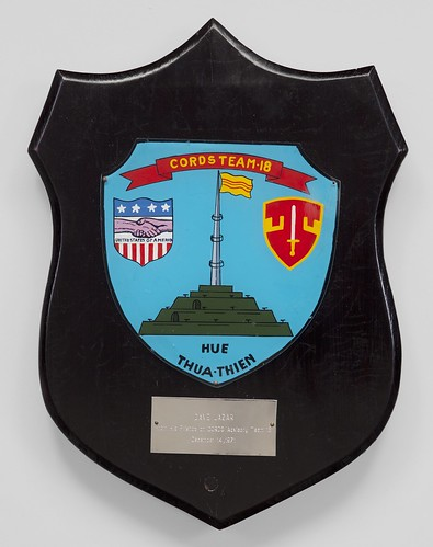 Civil Operations and Revolutionary Development Support (CORDS) Plaque