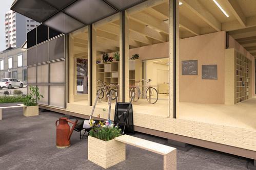 swiss home design.  SD2017 Swiss Team House Rendering Solar Decathlon cole Polytechnique F d rale de