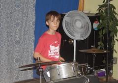 Truckstop Honeymoon 5 (D Johnston) Tags: lawrencekansas lovegarden drums musician