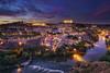 Toledo (karinavera) Tags: city longexposure night photography cityscape urban ilcea7m2 toledo españa sunset spain
