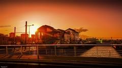 Sunset Bordeaux (YᗩSᗰIᘉᗴ HᗴᘉS +8 000 000 thx❀) Tags: bordeaux sunset france water garonne sun orange
