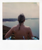 film (La fille renne) Tags: film analog lafillerenne instantfilm polaroid polaroidsx70alpha impossibleproject impossiblesx70color brittany bretagne pau woman back nude sea
