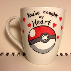 Quotes About Love For Him : Pokeball Mug by DalektableMugs on Etsy, $12.00… (omgquotes.com) Tags: quotes life love inspirational motivational