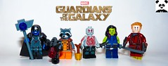 Guardians Of The Galaxy (Random_Panda) Tags: marvel lego figs fig figures figure minifigs minifig minifigures minifigure purist purists character characters comics superhero superheroes hero heroes super comic book books films film movie movies tv show shows television avengers avenger mcu assemble infinity war 3 thanos starlord ego living planet guardians of the galaxy ronan accuser drax destroyer gamora rocket groot baby raccoon stone nova space chris pratt vin diesel dave bautista zoe saldana bradley cooper lee pace