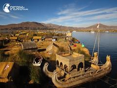 Uros Island, Lake Titicaca, Puno (perubesttours) Tags: peru perubesttour perutouroperator travel travelpackage puno laketiticaca urosislands uros floatingislands community adventure