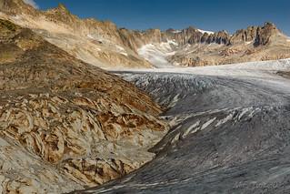 View @ Rhône glacier