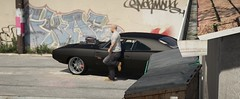 Grand Theft Auto V (SocialEmble_gta) Tags: grand theft auto v doms 1970 dodge charger the fast furious