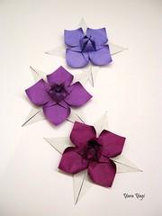 Manacá (Yara Yagi) Tags: origami paper papel flor flower manacá