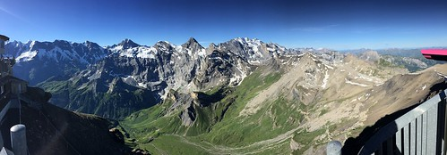View SE to SW from Schilthorn